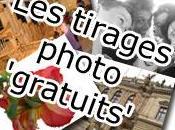 Divers tirages photo gratuits