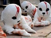 Manifestation PETA à Washington