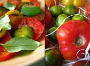 Simplissime mais merveilleuse salade tomates anciennes