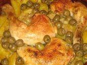 Tajine poulet-olives