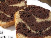 CAKE MARBRE CHOCO-VANILLE (vegan)