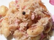Poelee gnocchis choucroute lardons