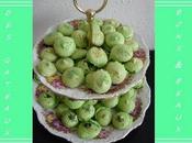 Coque macaron pistache