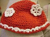 Bonnet rouge coton