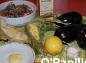 Aubergines maïs doux