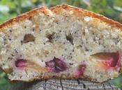 Cake prunes pavot bleu