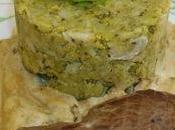 Pavé d'autruche sauce fines herbes