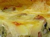 Tarte Poireaux, Reblochon Lardons