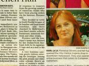 lingerie Vito Venice l'honneur dans presse