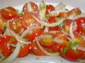 Salade tomates cerises sésame