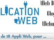 application pour blogueur, webmatser…