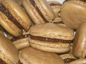 Macarons chocolat-noisette