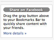 link external content your facebook profile?