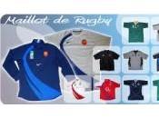 Rugby Equipe France contre l'Afrique