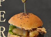 Mini-hamburgers foie gras pour l'apéro