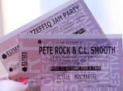 Backstage Pete Rock Smooth L'Elysée Montmartre