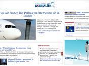 France victime foudre