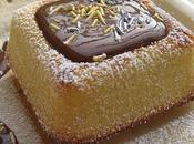 Petits gâteaux amande citron, sauce chocolat caramel café