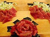 Homemade sashimis...