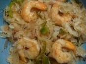 Choucroute crevettes plaisir gourmand novembre