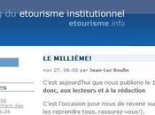 Touristonautes.com c'est bien... mais passez côté Etourisme.info