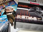 Gamepad x-style, annees laser...