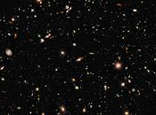 Image plus profonde l'univers dans proche infrarouge réalisée télescope Hubble