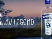 Publicité pour Vodka Viru Valge