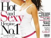 Katrina Kaif fait couverture Filmfare Magazine (décembre 2009).
