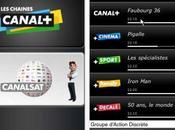 iPhone Canal+ l'appli dispo l'AppStore