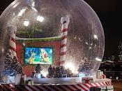 boule neige géante Londres!