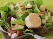 Salade hivernale sucrée salée