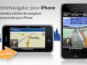 [Application IPA] Exlusivité EuroiPhone Navigon avec radars, carte France, POIS situés juste voix Française, sans modification l'écran d'accueil.