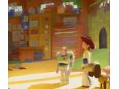Story Pixar dévoile croquis