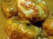 Lotte crevettes curry