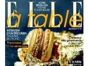 CHAMPAGNE ETAIT... Dans magazine ELLE Table, d...