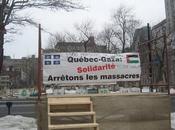Montréal Manifestation Solidarité Québec Gaza