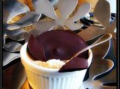 Petits pots crèmes marrons (sans oeuf gluten, vegan)