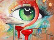 L'oeil serpent (mur peint)