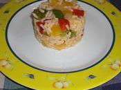 Salade trois poivrons