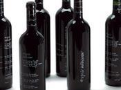 Vin, lignes bouteille
