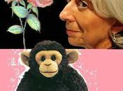 roses petit singe Christine Lagarde.