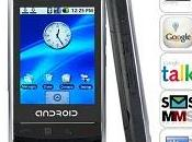 Nouveau smartphone Google Android