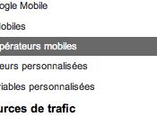 Google Analytics: section mobilité annotations