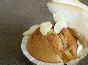 Muffins poire amandine