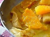 Crêpes l'orange