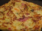Pancakes légumes paté Hénaff Momix.