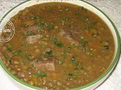 Soupe lentilles L'Algerienne Elias la3adesse.