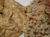Boeuf sauce cacahuete