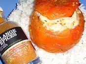Tomates farcies poulet coriandre (Recette ProPoints Weight Watchers)